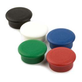 Boston Xtra Mini rund Set mit 10 Büromagneten Neodym, Ø 20 mm