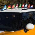 Magnet-Flagge fürs Auto