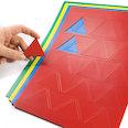 für Whiteboards & Planungstafeln, 25 Symbole pro A4-Bogen, in verschiedenen Farben