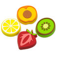 Dekomagnete in Form von Früchten, 4er Set