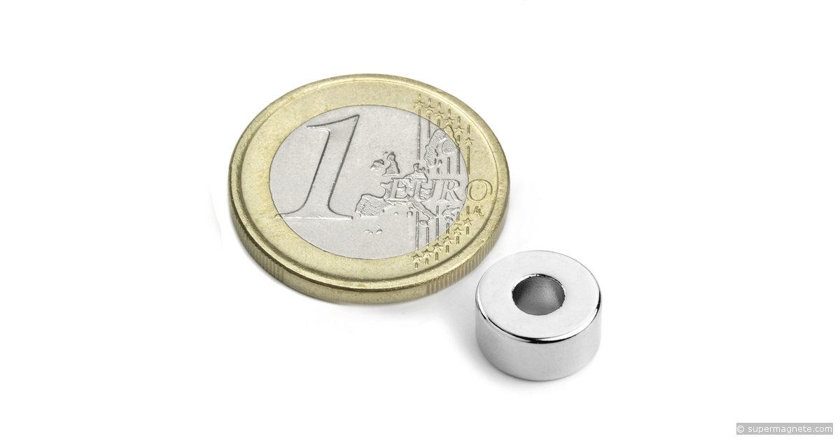 ringmagnete magnetringe magnete mit loch 10 x 4 x 5 mm r 10 04 05 n supermagnete. Black Bedroom Furniture Sets. Home Design Ideas