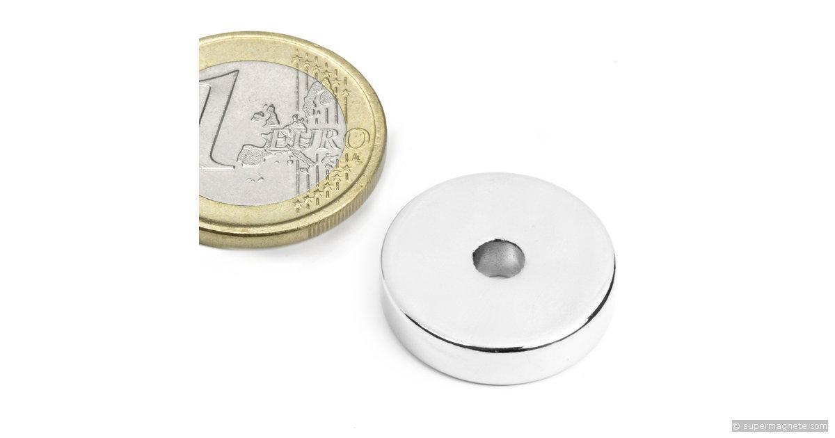 ringmagnete magnetringe magnete mit loch 20 x 4 2 x 5 mm r 20 04 05 n supermagnete. Black Bedroom Furniture Sets. Home Design Ideas