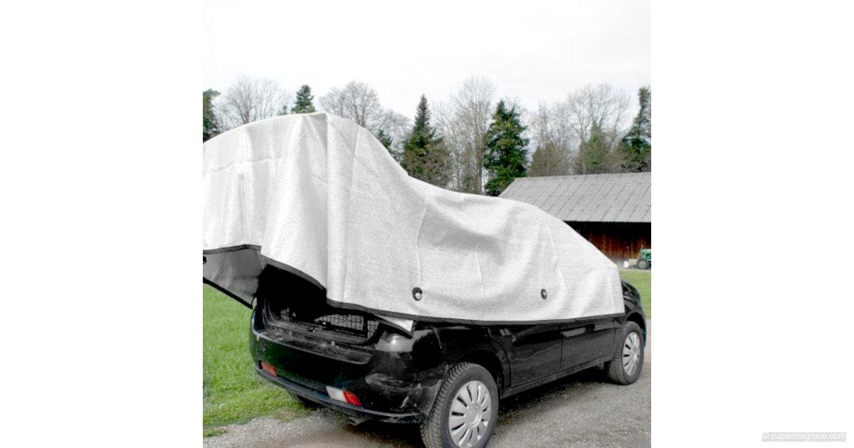 alunet schattiernetz f r auto schutz f r hund 3x4 m supermagnete. Black Bedroom Furniture Sets. Home Design Ideas