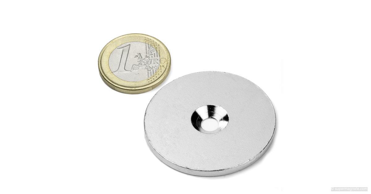 metallscheibe gegenst ck f r magnete d 42 mm supermagnete. Black Bedroom Furniture Sets. Home Design Ideas