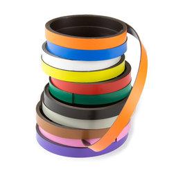 MT-10, Farbiges Magnetband 10 mm, zum selber Beschriften und Zuschneiden, Rollen à 1 m