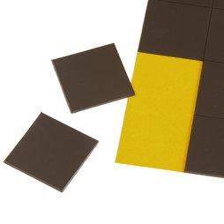MS-TAKKI-02, Takkis 30 x 30 mm, selbstklebende Magnetplättchen, 20 Plättchen pro Bogen