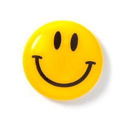 LIV-124, Smiley 'Boy', plastifiziert, gelb