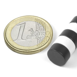 S-10-05-E, Scheibenmagnet Ø 10 mm, Höhe 5 mm, Neodym, N42, Epoxidharz-beschichtet