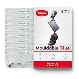 SUG-08/white, Sugru 8er-Pack, formbarer Kleber, weiß, Packungen zu je 5 g
