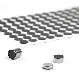 M-SIL-10, Silikonscheiben Ø 10 mm, selbstklebend, 136 Stück pro Set