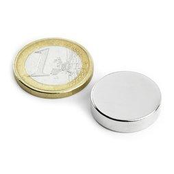Scheibenmagnet Ø20mm, H�he5mm