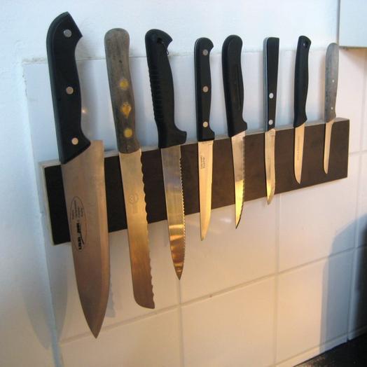 magnet anwendungen messerleiste ohne sichtbare schrauben supermagnete. Black Bedroom Furniture Sets. Home Design Ideas